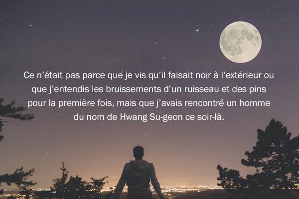 « La Nuit au clair de lune » de Yi Tae-jun