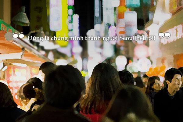 """""""Những người Seoul"""" – Choi Il-nam"""