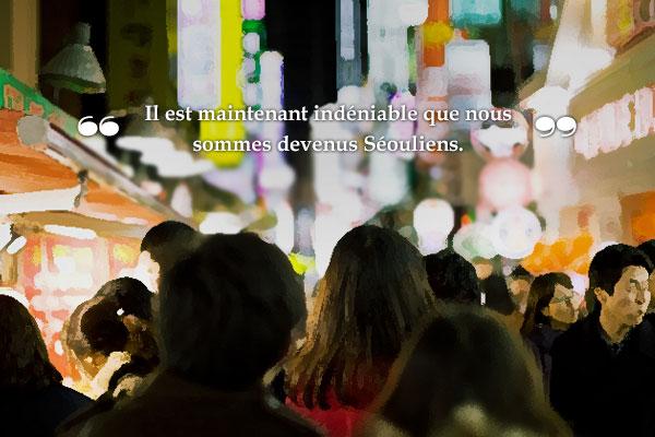« Les Séouliens » de Choi Il-nam