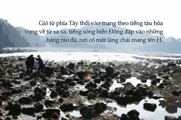 """""""Làng chài ven biển"""" – Oh Yeong-soo"""