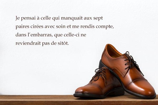 « L'Homme aux neuf paires de chaussures » de Yun Hûng-kil