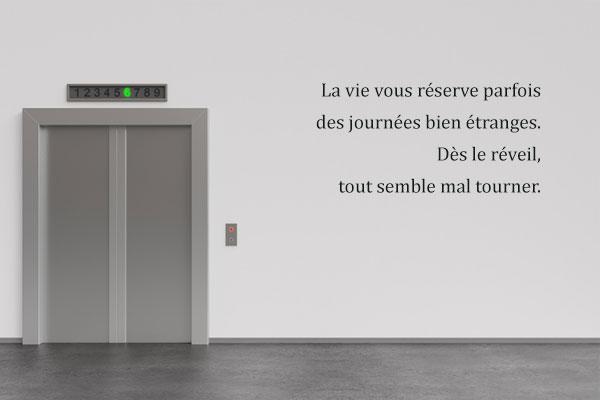 « Qu'est devenu l'homme coincé dans l'ascenseur ? » de Kim Young-ha