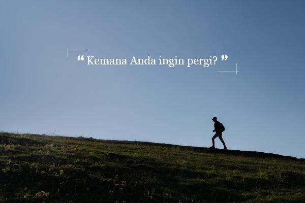 """Kemana Anda Ingin Pergi"" oleh Kim Aeran"