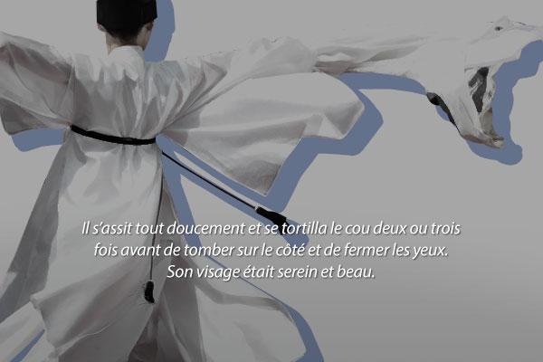 « La Danse de la grue » de Kim Yi-seok
