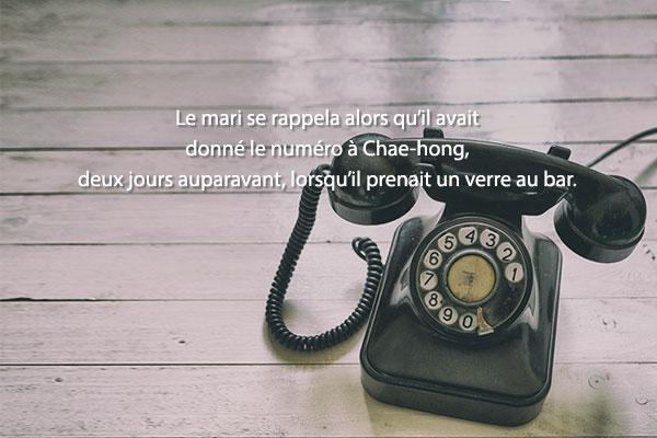 « Le Téléphone » de Yeom Sang-seop