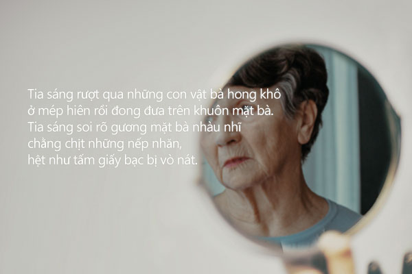 """Chiếc gương đồng"" – Oh Jeong-hee"