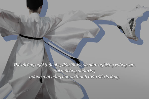 """Điệu múa hạc"" – Kim Yi-seok"