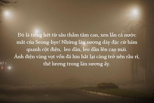 """""""Sương mù"""" – Kang Sin-jae"""