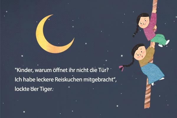 """Volksmärchen: """"Die Geschwister, die zu Sonne und Mond wurden"""""""