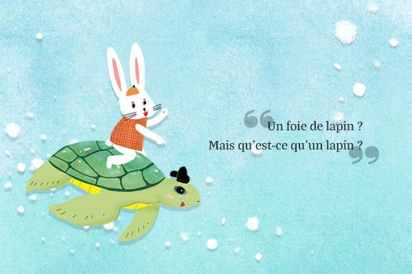 Série spéciale pour le mois de la famille : les contes populaires de Corée Le quatrième conte : « L'Histoire du lapin »