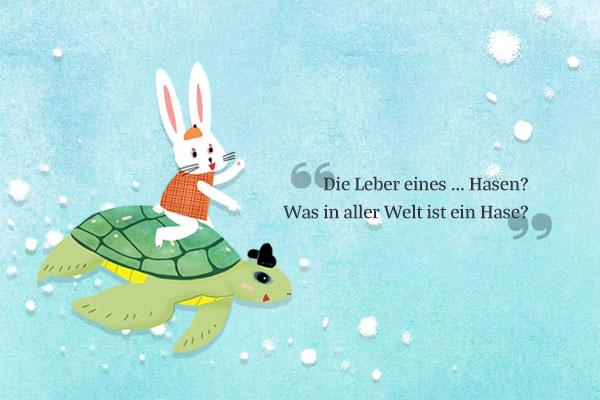 """Volksmärchen: """"Der Hase und die Schildkröte"""""""
