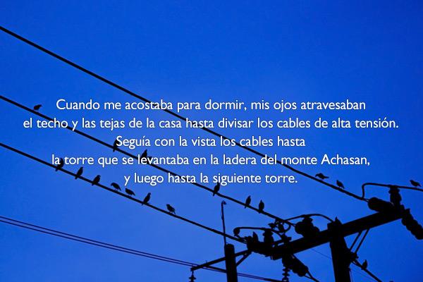 'Los cables de alta tensión', de Cho Sun Jak