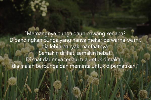 """""""Bunga Daun Bawang"""" oleh Lee Hyeun-soo"""