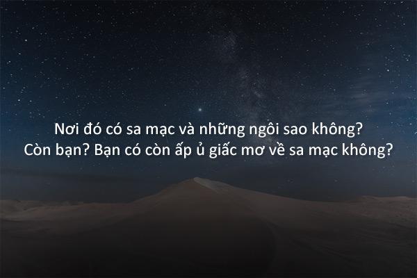 Đi vào sa mạc (Cheon Seon-ran)