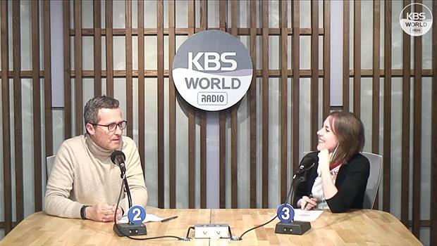 Xavier Liaudet : Français, vit à Séoul