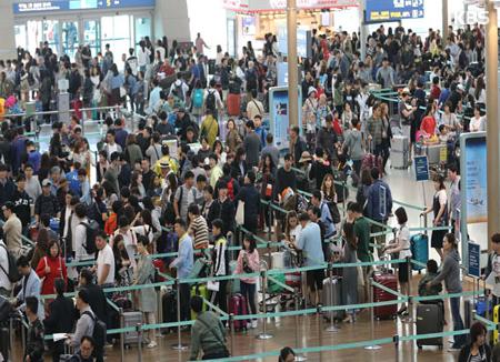 El Aeropuerto de Incheon bate récord de usuarios por Chuseok