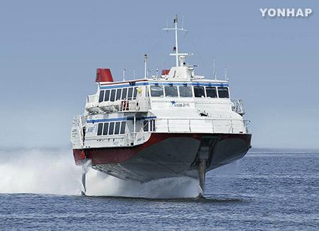 Cada vez más surcoreanos viajan a Japón en barco