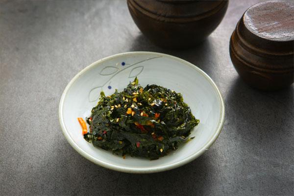 Recetas de temporada: Algas verdes (파래)