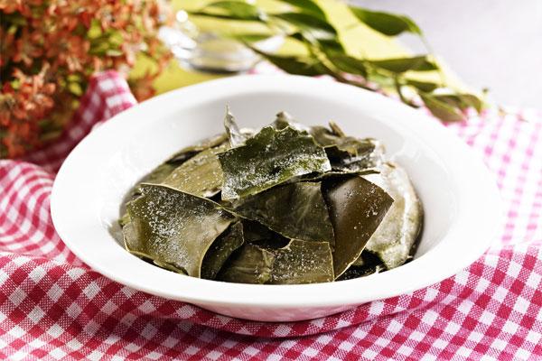 Recetas de temporada: Alga kelp (다시마)