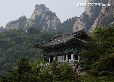 Templo Mangwolsa, un refugio en medio del bosque