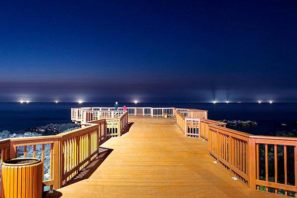 Disfrutar de una romántica noche en la isla de Jeju