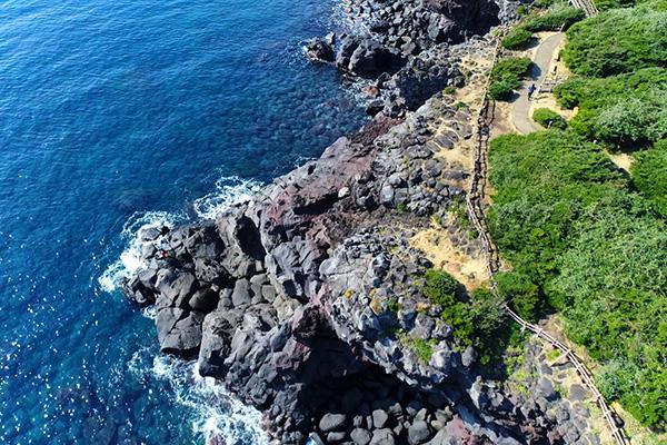 Primer tramo del Camino Olle en Jeju