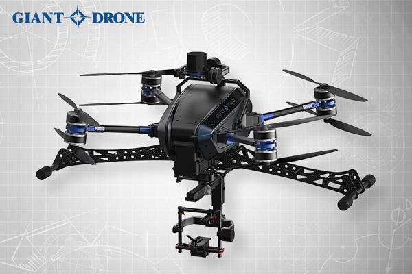 Giantdrone et ses drones capables de voler plusieurs heures
