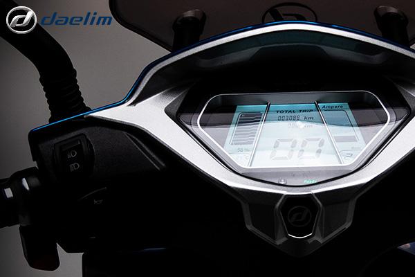 Daelim ist Koreas größter Motorradhersteller