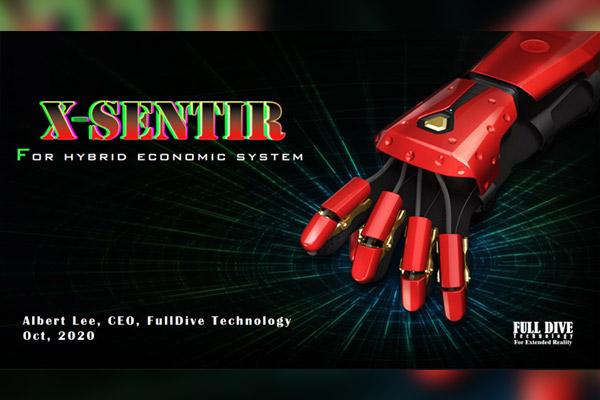 Full Dive Technology entwickelt haptische Handschuhe