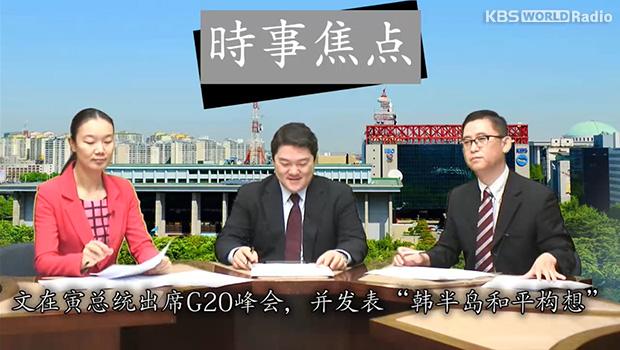 """文在寅总统出席G20峰会,并发表""""韩半岛和平构想"""""""