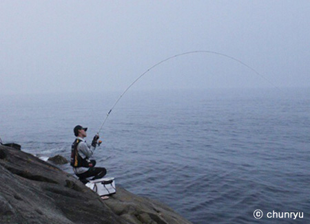 Chunryu, Korea's leading fishing rod manufacturer
