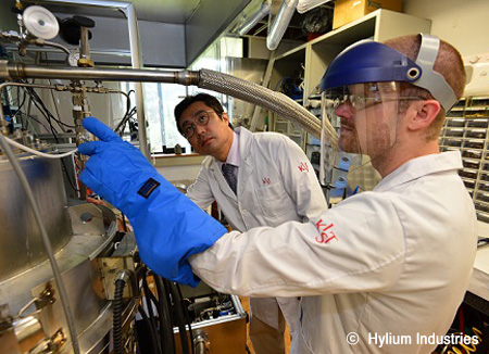 Hylium Industries, a company opening up a new chapter for the hydrogen vehicle fueling system
