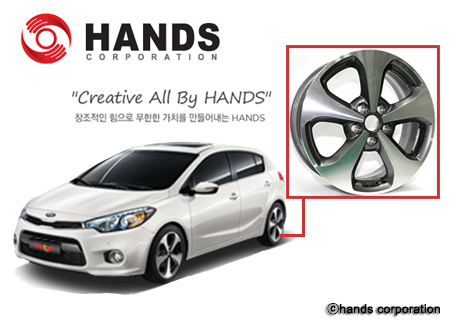 Hands Corporation, a company specializing in wheel production.