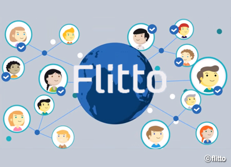 """""""翻译大师""""韩国""""Flitto""""公司"""