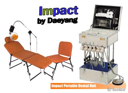 Daeyang Dentech, equipos dentales portátiles y solidarios