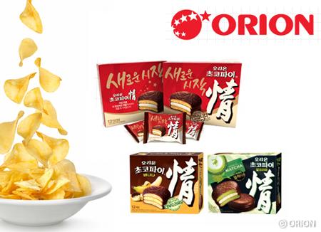 """全世界的""""巧克力派""""——韩国""""Orion Corporation""""公司"""