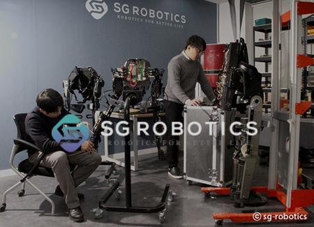SG Robotics, produsen robot yang dapat dipakai