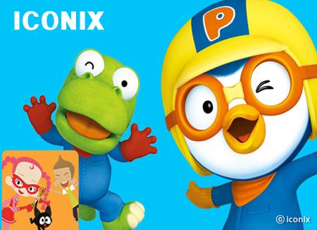 Iconix, creador del popular pingüino Pororo