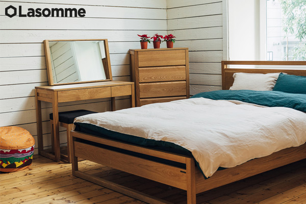 Los muebles de Lasomme aportan belleza y utilidad al entorno del hogar