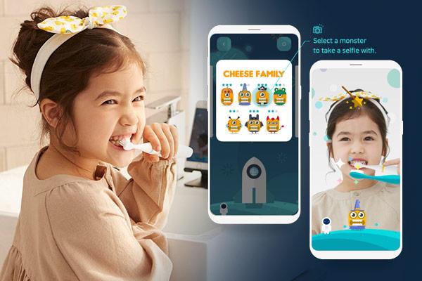 Приложение по обучению детей гигиене полости рта от компании Kitten Planet