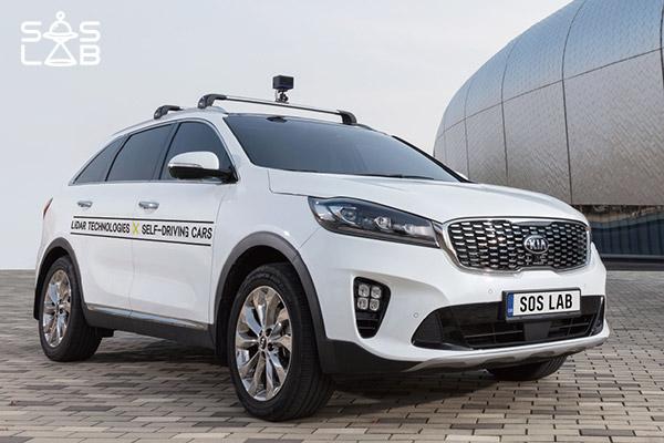 SOS LAB, nuevo sensor híbrido para vehículos autónomos