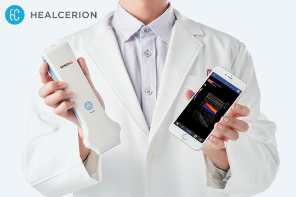 Pengembang Alat Ultrasonografi Portabel, Healcerion