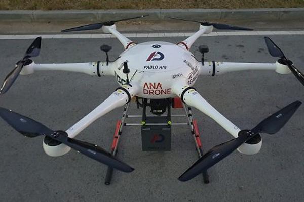 Компания Pablo Air - разработчик решений с применением дронов