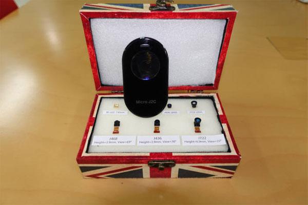 Компания J2C и её решения для распознавания радужной оболочки глаза
