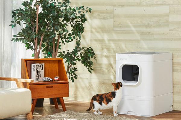 PurrSong – nhà sản xuất nhà vệ sinh tự động cho mèo có thể tự làm sạch
