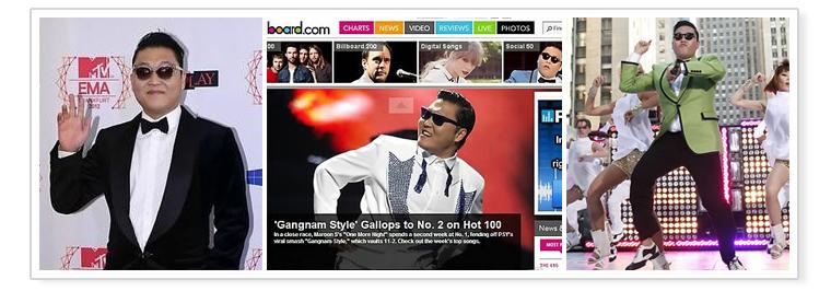 8. « Gangnam Style » du chanteur sud-coréen Psy a déferlé sur la planète