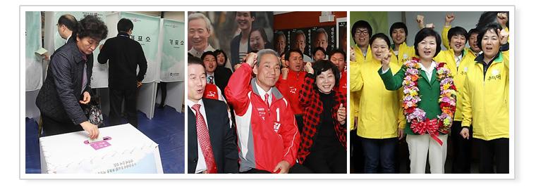 3. Kemenangan partai Saenuri pada pemilihan umum yang tak terduga