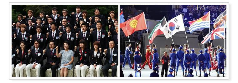 6. Korea Selatan menduduki urutan ke-5 dalam Olimpiade London 2012