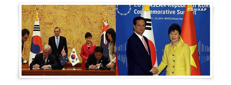 6. إبرام اتفاقيات للتجارة الحرة مع الصين وكندا واستراليا ونيوزيلاند