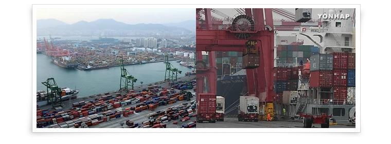 7. El comercio exterior surcoreano supera 1 billón de dólares en tiempo récord